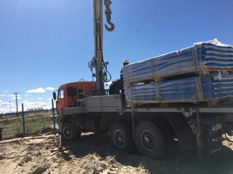 Фото перевозки строительных метериалов